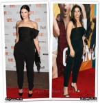 Who Wore Lanvin Better? Gemma Arterton or Sandra Bullock
