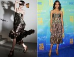 Zoe Saldana In Lanvin - 2011 Teen Choice Awards