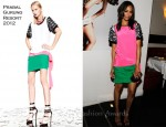 "Zoe Saldana In Prabal Gurung - Flaunt Magazine And Gypsy 05 Present ""The Neo-Golden Age"""