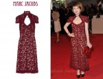 In Emily Browning's Closet - Marc Jacobs Guipere Lace Rose-Vine Dress