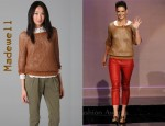In Katie Holmes' Closet - Madewell Montauk Mesh Pullover