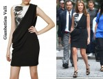 In Nina Garcia's Closet - Giambattista Valli Printed Drape Dress