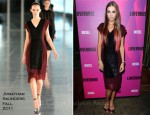 Amber le Bon In Jonathan Saunders - Diesel Fragrance Launch Party