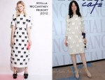 Andrea Riseborough in Stella McCartney - Venice Film Festival Lancia Cafe