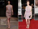 "Anna Kendrick In Georges Hobeika Couture - ""50/50"" New York Premiere"