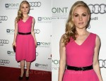 Anna Paquin In Prabal Gurung - 2011 Point Honor Los Angeles Gala