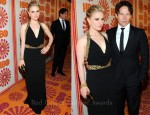 Anna Paquin In Alexander McQueen - 2011 Emmy Awards