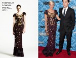 "Ashlee Simpson In Temperley London - ""Boardwalk Empire"" Season 2 Premiere"