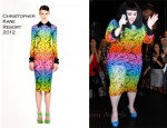 Beth Ditto In Christopher Kane - MAC Cosmetics Fashion's Night Out