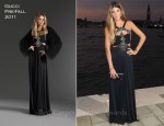 Bianca Brandolini d'Adda In Gucci - 2011 Gucci Award For Women In Cinema