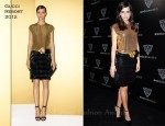 Camilla Belle In Gucci - Gucci Museo Opening