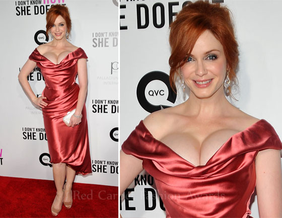 Steal the style: Christina Hendricks