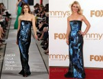 Claire Danes In Oscar de la Renta - 2011 Emmy Awards