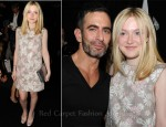 Dakota Fanning In Marc Jacobs - Marc Jacobs Spring 2012 Presentation
