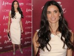 Demi Moore In Victoria Beckham - Variety's 3rd Annual Power Of Women Luncheon