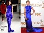 Dianna Agron In Roksanda Ilincic - 2011 Emmy Awards