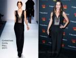 "Emily Blunt In Christian Cota - ""Salmon Fishing In The Yemen"" After Party Toronto Film Festival"