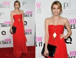"Emma Roberts In Tibi - ""I Don't Know How She Does It"" New York Premiere"