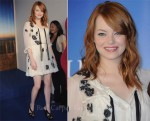 "Emma Stone In Dolce & Gabbana - ""The Help"" Deauville Film Festival Photocall"