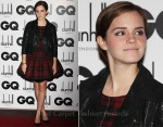 Emma Watson In McQ - 2011 GQ Men Of The Year Awards