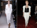 Evan Rachel Wood In YSL - 'Ides of March' LA Premiere