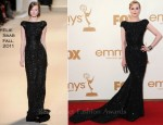 Evan Rachel Wood In Elie Saab - 2011 Emmy Awards