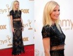 Gwyneth Paltrow In Emilio Pucci - 2011 Emmy Awards