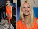 Gwyneth Paltrow In Lanvin - Coach & Gwyneth Paltrow Dinner Party