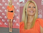 "Gwyneth Paltrow In Prada - ""Contagion"" Venice Film Festival Photocall"