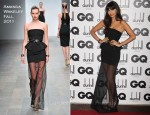Jameela Jamil In Amanda Wakeley - 2011 GQ Men Of The Year Awards