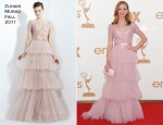 Jayma Mays In Zuhair Murad - 2011 Emmy Awards