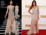 Jennifer Carpenter In Tony Ward Couture - 2011 Emmy Awards