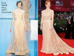 "Jessica Chastain In Elie Saab Couture - ""Wild Salome"" Venice Film Festival Premiere"