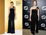 Jessica Chastain In Gucci - 2011 Gucci Award For Women In Cinema