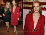 "Jessica Chastain In Vintage YSL - ""Killer Joe"" Toronto Film Festival Party"