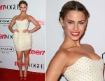 Jessica Lowndes In Camilla and Marc - Teen Vogue Young Hollywood Party