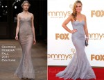 Julia Stiles In Georges Hobeika Couture - 2011 Emmy Awards