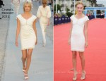 "Kate Bosworth In Chanel - ""Another Happy Day"" Deauville Film Festival Photocall"