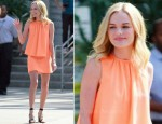 "Kate Bosworth In Christopher Kane - ""Chelsea Lately"""