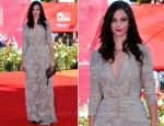 "Kaya Scodelario In Burberry - ""Wuthering Heights"" Venice Film Festival Premiere"