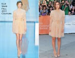"Keira Knightley In Elie Saab Couture - ""A Dangerous Method"" Toronto Film Festival"