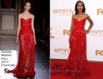 Kerry Washington In Zuhair Murad Couture - 2011 Emmy Awards