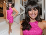 Lea Michele In Michael Kors - Michael Kors Luncheon