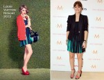 Leighton Meester In Louis Vuitton - The Variety Studio At Holt Renfrew