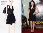 "Lily Collins In Versace - ""Abduction"" London Premiere"