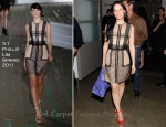 Lucy Liu In 3.1 Phillip Lim - Katie Gallagher Presentation