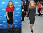 "Madonna In YSL & Tom Ford - ""W.E."" Toronto Film Festival Press Conference & Premiere"