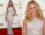Maria Bello In Kaufmanfranco - 2011 Emmy Awards