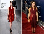 Marisa Tomei In Marios Schwab - 'Ides of March' LA Premiere