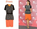 In Marisa Tomei's Closet - Preen Tron Crystal-Beaded Dress